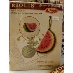 Wassermelone - Nadelkissen