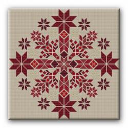 Nordischer Stern ( rot )