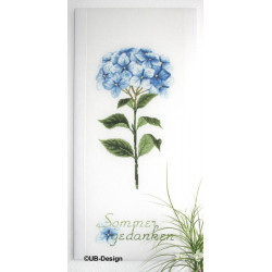 Hortensienstiel blau
